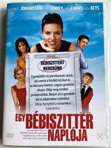 The Nanny Diaries DVD 2007 Egy bébiszitter naplója / Directed by Shari Springer Berman, Robert Pulcini / Starring: Scarlett Johansson, Laura Linney, Alicia Keys, Chris Evans (5999544254596)