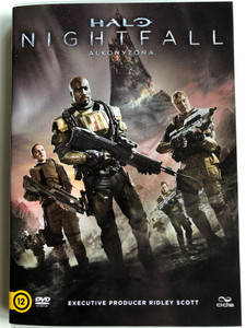 Halo - Nightfall DVD Halo - Alkonyzóna / Directed by Sergio Mimica-Gezzan / Starring: Mike Colter, Christina Chong, Steven Waddington, Christian Contreras / Produced byRidley Scott (5996471001279)