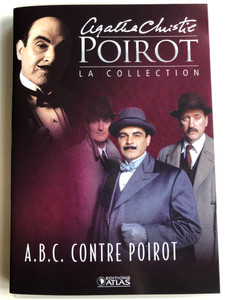 Agatha Christie Poirot DVD 1992 La Collection A.B.C Contre Poirot / Directed by Andrew Grieve / Starring: David Suchet, Hugh Fraser, Philip Jackson (PoirotFrenchDVD)