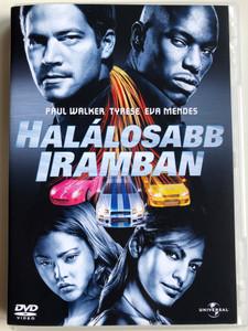 2 fast 2 furious DVD 2003 Halálosabb iramban / Directed by John Singleton / Starring: Paul Walker, Tyrese Gibson, Eva Mendes, Cole Hauser (5050582100204)