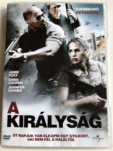 The Kingdom DVD 2007 A királyság / Directed by Peter Berg / Starring: Jamie Foxx, Chris Cooper, Jennifer Garner, Jason Bateman (5996255726503)