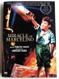 Miracle of Marcelino DVD 1955 / Directed by Ladislao Vajda / Starring: Rafael Rivelles, Antonio Vico, Juan Calvo (089859839122)