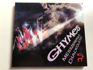 Ghymes ‎– Messzerepülő, Diaľkoletec / Pavian Records Audio CD 2007 / PM0027-2
