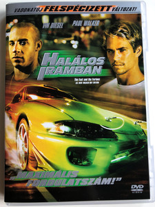 The Fast and the Furious DVD 2001 Halálos iramban / All new tricked out edition / Directed by Rob Cohen / Starring: Vin Diesel, Paul Walker, Michelle Rodriguez (5999010449242)