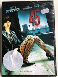 .45 DVD A bosszú íze / Directed by Gary Lennon / Starring: Milla Jovovich, Angus Macfadyen, Stephen Dorff, Aisha Tyler (5999544251649)