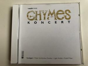 Ghymes – Koncert / Vendegek - Matav Szimfonikus Zenekar, Ligeti Andras, Rudolf Peter / EMI Audio CD 2003 / 595984 2