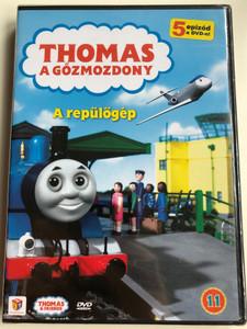 Thomas the Tank Engine & Friends vol 11. DVD 1984 Thomas a gőzmozdony - A repülőgép / Directed by David Mitton / 5 episodes on disc / 5 epizód a DVD-n / A repülőgép, A döccenő, A liszt nyomában, Kaland a haraggal, Baráti segítség (5999557441518)