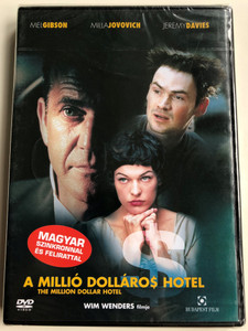 The Million Dollar hotel DVD 2000 A Millió Dolláros hotel / Directed by Wim Wenders / Starring: Mel Gibson, Milla Jovovich, Jeremy Davies (5999551920538)