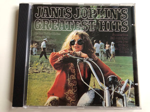 Janis Joplin's Greatest Hits / Me And Bobby McGee, Down On Me, Piece Of My Heart, Try (Just A Little Bit Harder), Bye, Bye Baby / CBS Audio CD / CD 32190