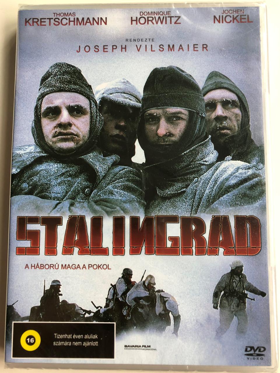 Stalingrad Dvd 1992 A Haboru Maga A Pokol Directed By Joseph Vilsmaier Starring Dominique Horwitz Thomas Kretschmann Jochen Nickel Bibleinmylanguage