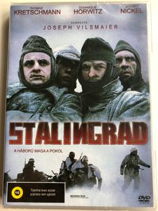 Stalingrad DVD 1992 A háború maga a pokol / Directed by Joseph Vilsmaier / Starring: Dominique Horwitz, Thomas Kretschmann, Jochen Nickel (5999545584746)