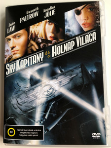 Sky Captain and the wolrd of Tomorrow DVD 2004 Sky kapitány és a holnap világa / Directed by Kerry Conran / Starring: Jude Law, Gwyneth Paltrow, Angelina Jolie (5999545584005)