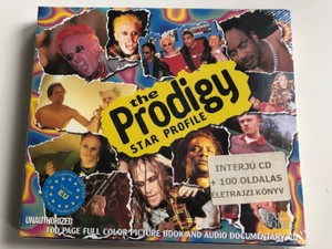 Prodigy ‎– Star Profile / 100 Page Full Color Picture Book And Audio Documentary CD / Mastertone Audio CD + Collectors Book / 658926808523