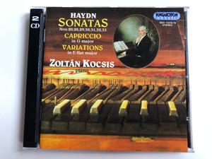 Haydn - Sonatas Nos. 20,28,29,30,31,32,33; Capriccio in G major; Variations in E flat major / Zoltán Kocsis - piano / Hungaroton Classic 2x Audio CD 1996 Stereo / HCD 11618-19