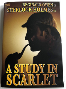 Sherlock Holmes - A study in scarlet DVD 1933 / Directed by Edwin L. Marin / Starring: Reginald Owen, Anna May Wong, June Clyde (787364507498)