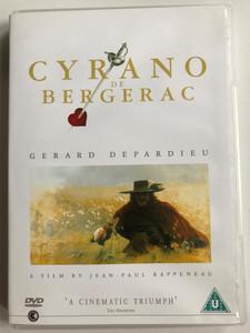 Cyrano de Bergerac (1990) DVD / Directed by Jean-Paul Rappeneau / Starring: Gérard Depardieu, Anne Brochet, Vincent Perez (5028836030898)
