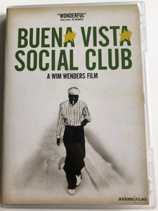 Buena Vista Social Club DVD 1998 / Directed by Wim Wenders / Featuring: Ibrahim Ferrer, Rubén González, Compay Segundo, Eliades Ochoa, Ry Cooder, Omara Portuondo (5060126870333)