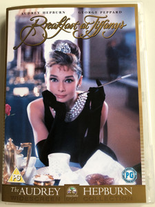 Breakfast at Tiffany's DVD 1961 / Directed by Blake Edwards / Starring: Audrey Hepburn, George Peppard / The Audrey Hepburn Collection (5014437802934)