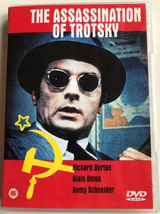 The Assassination of Trotsky DVD 1972 / Directed by Joseph Losey / Starring: Richard Burton, Alain Delom, Romy Schneider, Valentina Cortese (5060000408034)