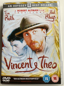 Vincent & Theo DVD 1990 / Directed Robert Altman / Starring: Tim Roth, Paul Rhys (5030370903736)
