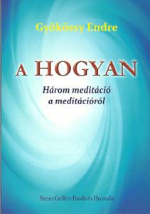 A HOGYAN by Gyökössy Endre / Három meditáció a meditációról / Szent Gellért Kiadó és Nyomda / The HOW / Three meditations about meditation / Paperback (GyokossyPB2) 9789636967499