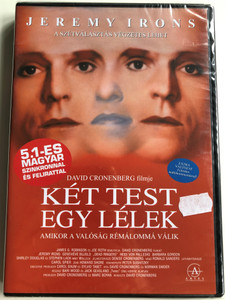 Dead Ringers (Két test, egy lélek) DVD 1988 / Directed by David Cronenberg / Starring: Jeremy Irons, Geneviève Bujold / Hungarian Special Edition (5999881068399)