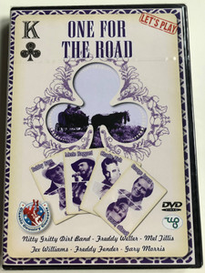 One for the road DVD 2006 Bobby Bare, Merle Haggard, Charlie Rich, George Jones / Nitty Gritty Dirt Band, Freddy Weller, Jex Williams / 21 concert tracks recorded live / CCCDVD010 / Weton-Wesgram (8717423025436)