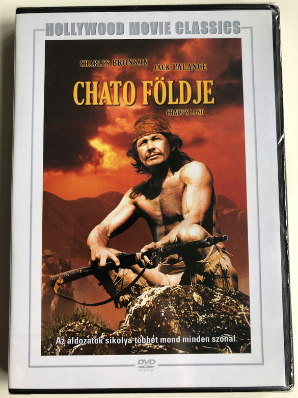 Chato's Land DVD 1972 Chato földje / Directed by Michael Winner / Starring: Charles Bronson, Jack Palance / Hollywood movie classics (5999546333268)