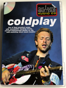Coldplay - Playalong guitar Audio CD / Five of their greatest songs, with soundalike backing tracks / In my place, Violet hill, Yellow / Wise Publications AM1000758 (9781849385770)