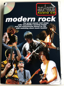 Modern Rock - Play along Guitar Audio CD / Five great classic rock songs with soundalike backing tracks / Razorlight, The kooks, Oasis, Franz Ferdinand, The Killers / Wise Publications AM1000835 (9781849385848)