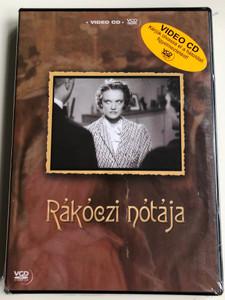 Rákóczi nótája VCD 1943 Video CD / Directed by Daróczy József / Starring: Abonyi Géza, Sárdy János, Tolnay Klári, Ungvári László (5996051910373)