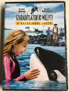 Free Willy: Escape from pirate's cove DVD 2010 Szabadítsátok ki Willyt! - A kalóz-öböl akció / Directed by Will Geiger / Starring: Bindi Irwin, Beau Bridges (5948211020378)