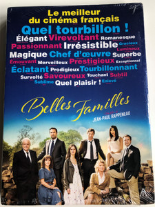 Families DVD 2015 Belles Familles / Directed by Jean-Paul Rappeneau / Starring: Mathieu Amalric, Marine Vacth, Gilles Lellouche, Nicole Garcia, Karin Viard (5053083064938)
