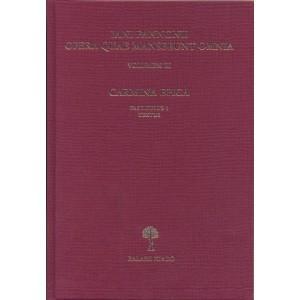 Iani Pannonii opera quae supersunt omnia III. / Balassi Kiadó / Complete works of Janus Pannonius in Latin / Hardcover (9789635068821)