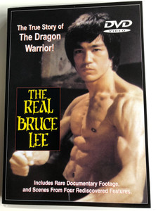 The real Bruce Lee DVD 1977 The true Story of the Dragon Warrior / Directed by Jim Markovic / Includes Rare Documentary Footage and Scenes from four rediscovered features / (615692129535)