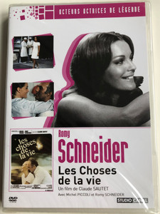 The Things of Life DVD 1970 Les Choses de la vie / Directed by Claude Sautet / Starring: Romy Schneider, Michel Piccoli (5050582727326)