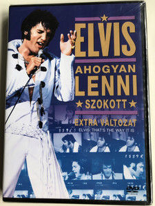 Elvis - That's the way it is DVD 1970 Elvis - Ahogyan lenni szokott / Directed by Denis Sanders / Hungarian Special edition (5999048907547)