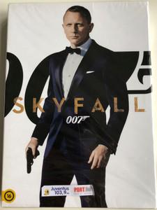James Bond 007 DVD 2012 Skyfall / Directed by Sam Mendes / Starring: Daniel Craig, Javier Bardem, Ralph Fiennes, Naomie Harris (5996255738339)