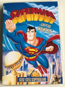Superman - The last son of Krypton DVD 1996 Superman - a Krypton utolsó fia / Directed by Dan Riba, Scott Jeralds / Voices: Tim Daly, Dana Delany, Clancy Brown, Malcolm McDowell (5999048907189)