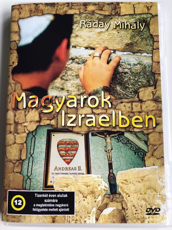 Magyarok Izraelben DVD 2004 Hungarians in Israel / Directed by Ráday Mihály / Expert - Szakértő Dr. Hóvári János / Berger László, Herczeg László, Horváth József, Juhász István, Szekeres Dénes (5996357312208)