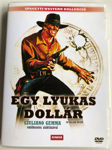 Un dollaro Bucato DVD 1965 Egy lyukas dollár (Blood for a Silver Dollar) / Directed by Giorgio Ferroni / Starring: Giuliano Gemma Spagetti Western kollekció (5999882817866)