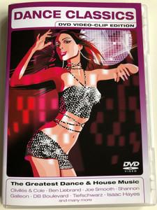 Dance Classics DVD 2004 Video-clip edition / The Greatest Dance & House music / Clivillés & Cole, Joe Smooth, Shannon Galleon, Tiefschwarz / Sony Music Entertainment SSP 9905389 (5099799053897)
