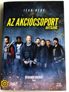 Antigang DVD 2015 Az akciócsoport (The Squad) / Directed by Benjamin Rocher / Starring: Jean Reno, Caterina Murino, Alban Lenoir (5996471002221)