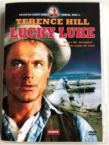Lucky Luke - Who is Mr. Jospehs - Midsummer in Daisy Town DVD 1992 Cine-i Mr. Josephs? Visul Unei nopti de vara / Directed by Ted Nicolaou, Richarrd Schlesinger / Starring: Terence Hill / 2 Episodes / The Adventures of Lucky Luke (5999882817330.)