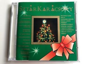 Sztárkarácsony / Csendes Éj, Száncsengő, Kiskarácsony, Nagykarácsony, Hull A Pelyhes Fehér Hó, Mennyből Az Angya, Ó, Szép Fenyő, Fehér Karácsony, Dicsőség, Ave Maria, Kell Ott Fenn..., Kisharang / Zebra Audio CD 1995 / 529633-2