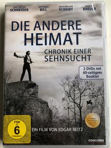 Die Andere Heimat DVD 2013 Chronik Einer Sehnsucht (Home from Home) / Directed by Edgar Reitz / Starring: Jan Dieter Schneider, Antonia Bill, Maximilian Scheidt (4010324201164)