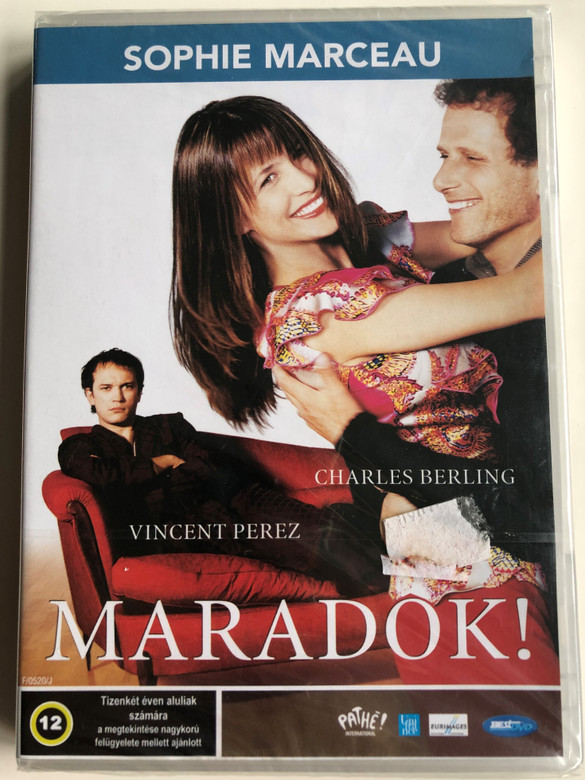 Je reste! DVD 2003 Maradok! (I'm staying) / Directed by Diane Kurys / Starring: Sophie Marceau, Vincent Perez (5998133153630)
