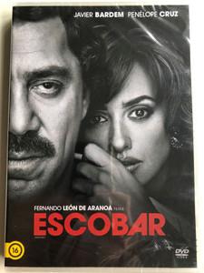 Loving Pablo DVD 2017 Escobar / Directed by Fernando León de Aranoa / Starring: Javier Bardem, Penélope Cruz (8590548615269)