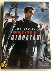 Mission Impossible - Fallout DVD 2018 Mission Impossible - Utóhatás / Directed by Christopher McQuarrie / Starring: Tom Cruise, Henry Caill, Ving Rhames, Simon Pegg (8590548616143)