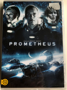 Prometheus DVD 2012 / Directed by Ridley Scott / Starring: Noomi Rapace, Michael Fassbender, Guy Pearce, Idris Elba (5996255737868)